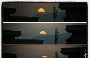 Beautiful Sunset in Islamabad, Pakistan