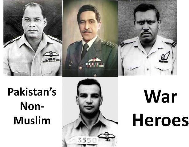 Pakistan's Non-Muslim War Heroes