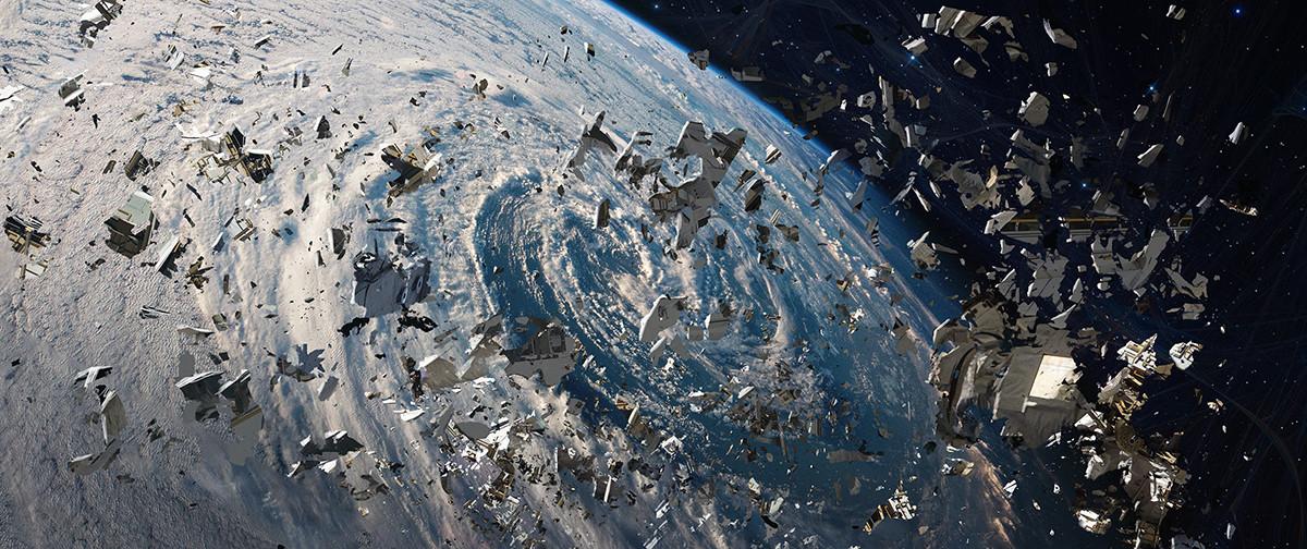 junk space earth orbit - photo #22
