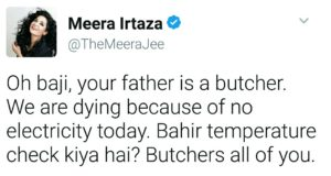 Meera Jee tweets