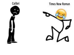 Calibri and Panamagate