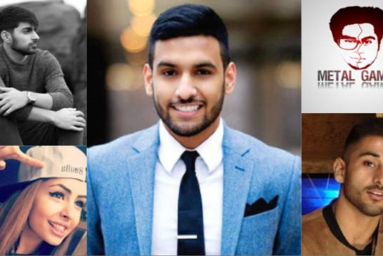 Pakistani Youtubers BrownGirl Problems1, Zaid Ali, Metal Gamers, Labib Yasir and Ahmed Sher Zaman