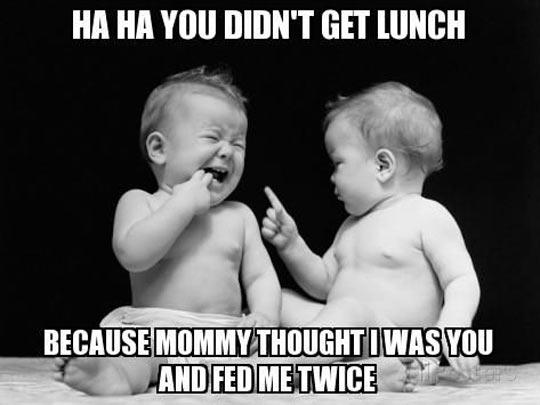 Funny raising twins