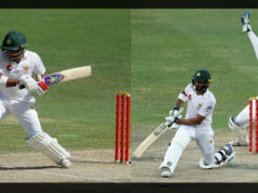 L-R: Sami Aslam, Shan Masood Image Source: ESPN Cricinfo