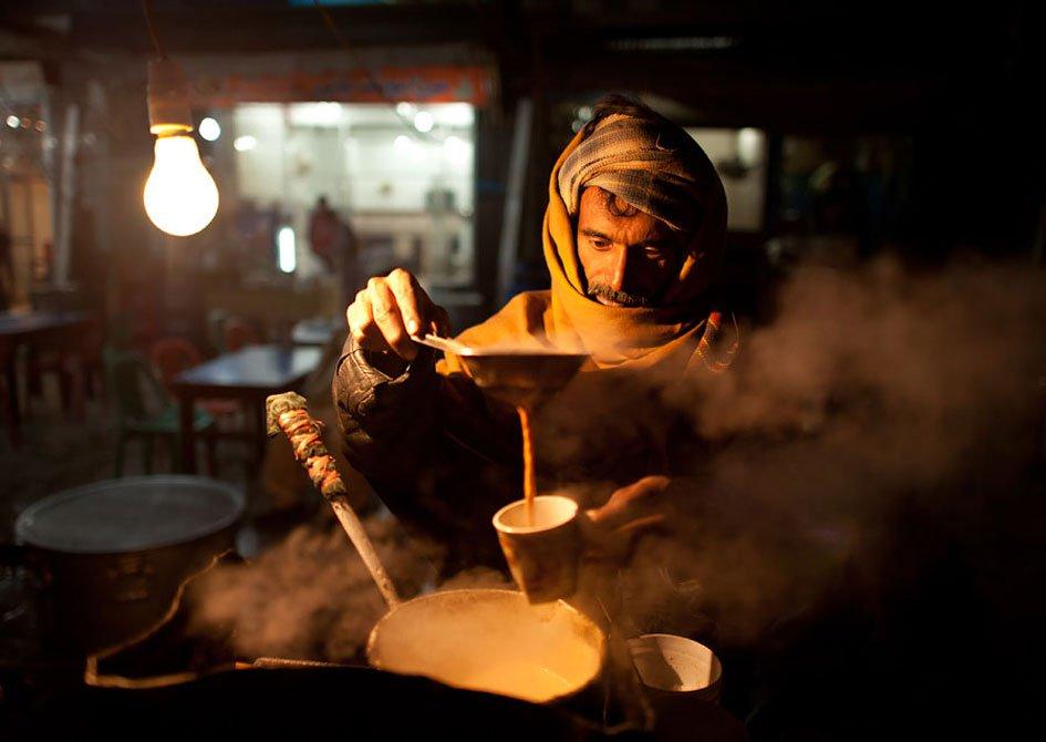 Pakistani Street Vendor