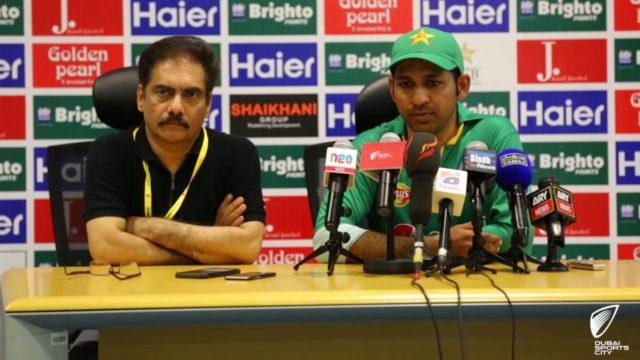 Pakistan cricket team captain Sarfaraz Ahmed