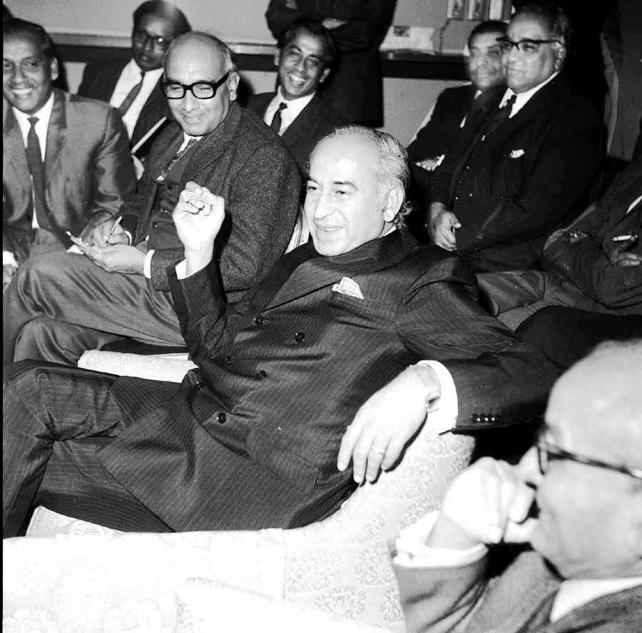 Z.A Bhutto with J.A Rahim
