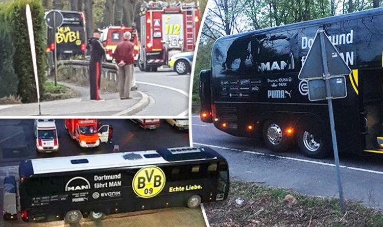 Dortmund Bus Attack Football Moments 2017