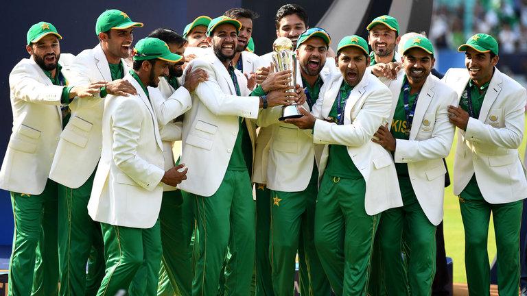 ICC T20 Champions Trophy Winner Pakistan