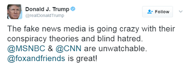 Fake News Trump Tweet