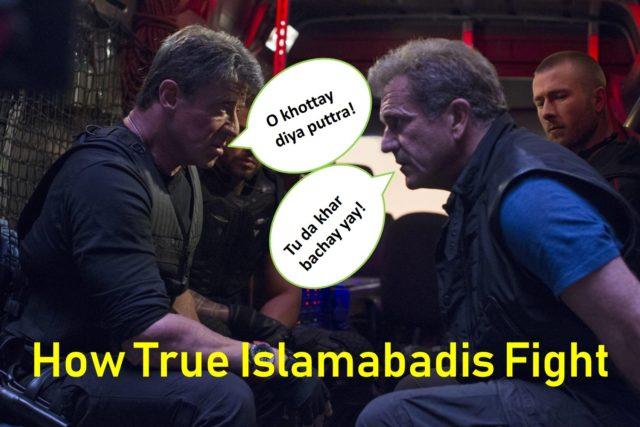 True Islamabadi fights