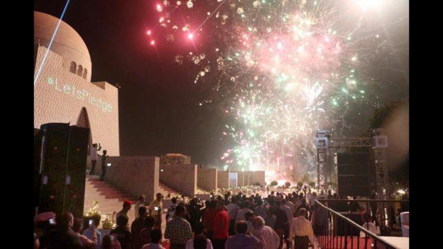 new Year in Karachi