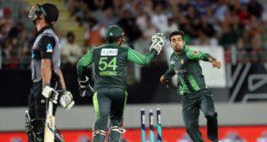 Pakistan cricket team win second T20 in New Zealand