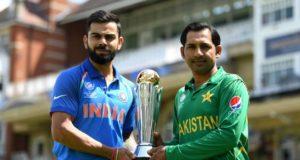 Pakistan and Indian cricket teams