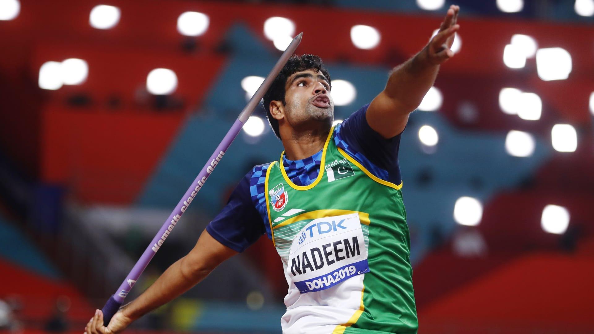 Arshad Nadeem to lock horns with Neeraj Chopra in Javelin throw final